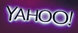 yahoo purple sign