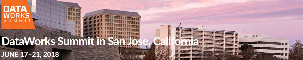 DataWorks Summit San Jose 2018
