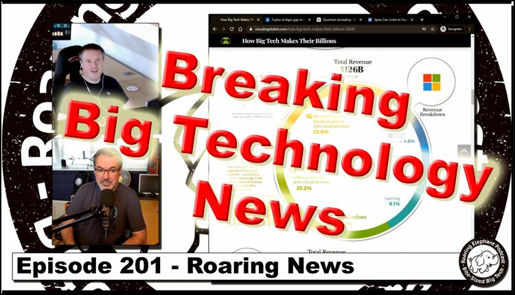 Episode 201 – Roaring News