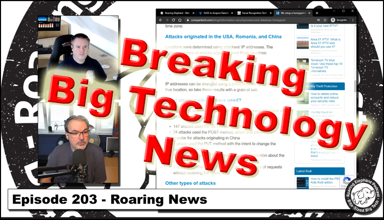 Episode 203 – Roaring News