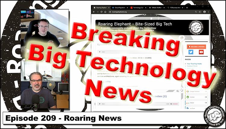 Episode 209 – Roaring News