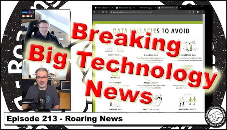 Episode 213 – Roaring News