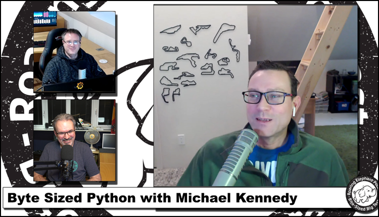 Episode 221 – Byte Sized Python with Michael Kennedy